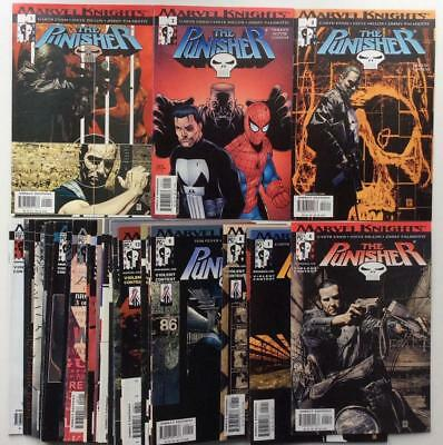 Punisher #1 to #37 complete 6th series (Marvel 2001) 37 x issues