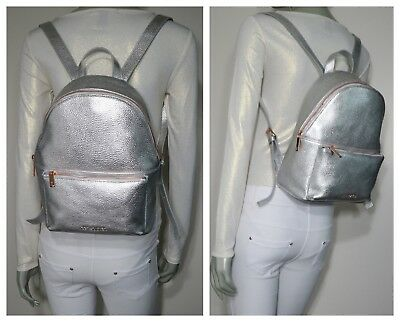 a1bb0b43c TED BAKER LONDON Pearen Soft Grain Backpack - Silver NWT  295.00 ...