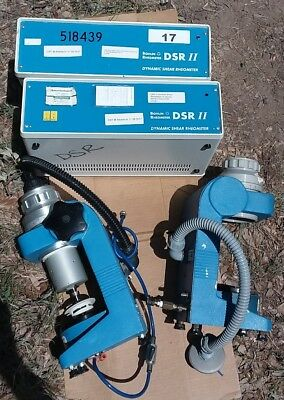 Lot of 2 Bohlin  Instruments Dynamic Shear Rheometer DSR II Mech