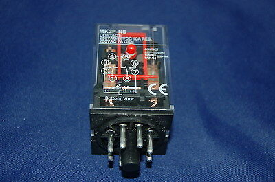One  New Plug In Relay 11Pin 3P Fits Mk-3Pns 24V Dc Coil