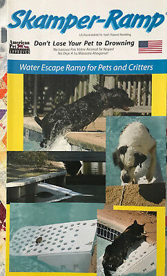 Skamper-Ramp Waterscape Ramp for Pets Critters Up to 45 Pounds