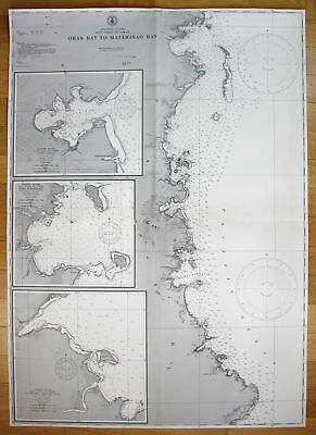 1944 Philippine Islands - East Coast of Samar - Oras Bay to Matarinao Bay map