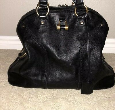 4b2ee9f3f8a0 AUTHENTIC YVES SAINT Laurent Large Muse Bag