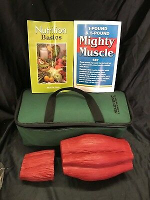 Health Edco Mighty Muscle Set 1 Lb And 5 Lb Anatomical Model