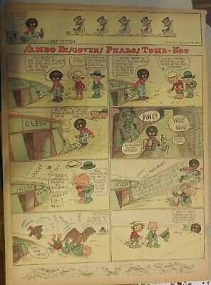 Sambo and His Funny Noises by Marriner from 8/6/1911 Full Size !