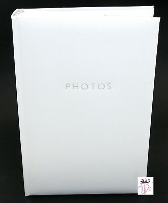 White 300 Photo Slip In Archival Quality Photo Album