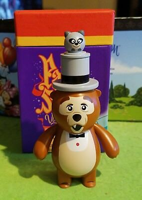 "DISNEY Vinylmation 3"" Park Starz Set 5 Country Bear Jamboree Henry Raccoon w Box"