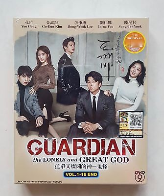 Korean Drama DVD GOBLIN The Lonely and Great God (2017) GOOD ENG SUB All Region
