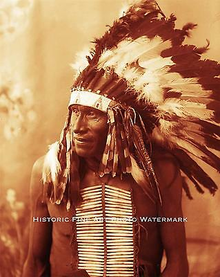 SIOUX INDIAN CHIEF WHITE BULL VINTAGE PHOTO NATIVE AMERICAN 1890 8x10 #21867