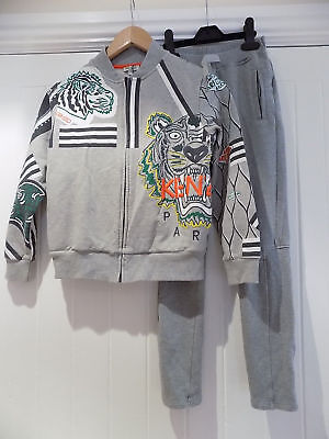Stunning  Kenzo boy's tracksuit top / bottoms size 9-10 years