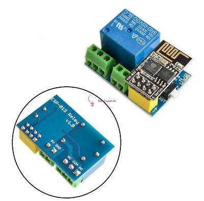ESP8266 ESP-01 5V WiFi Relay Module Smart Home Remote Control Switch Phone APP