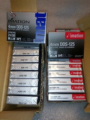 Imation 4MM DDS-125, DDS3 Tapes (20 tapes)