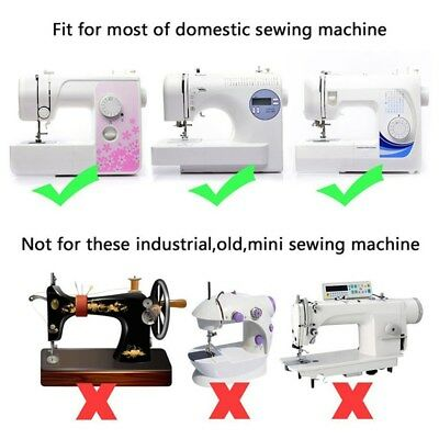 32x Sewing Machine Domestic Feet Presser Foot Home Shank Tool For Janome Brother