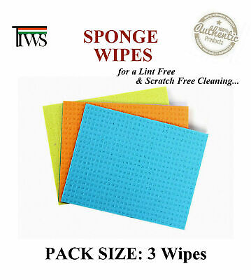 Cleaning Sponge Wipes Scratch Free Clean Cleaning Wipe - For Multi Purpose Use