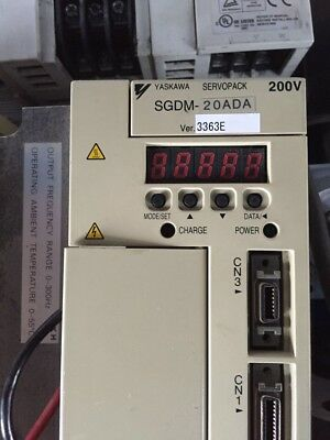 1PC USED Yaskawa SGDM-20ADA SHIP EXPRESS #P1363 YL