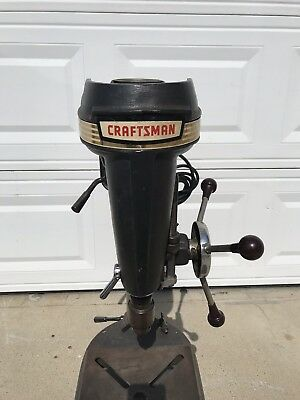 1950's-1960's Craftsman Vintage Bench Drill Press Mint