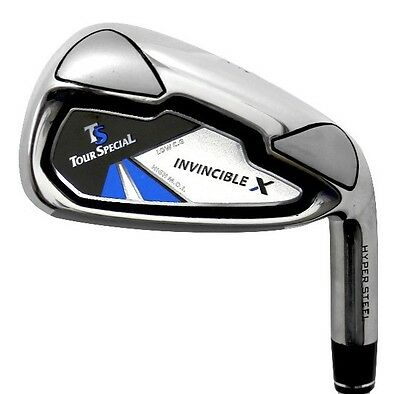 Tour Special Invincible X No. 7 Iron - Reg Steel - Mens Right Hand - New!
