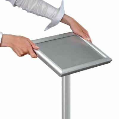 Freestanding Menu Display Stand Made of Aluminium - Adjustable Height Size - A3