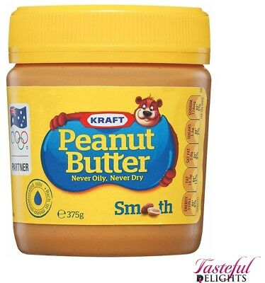 Peanut Butter Smooth 375g
