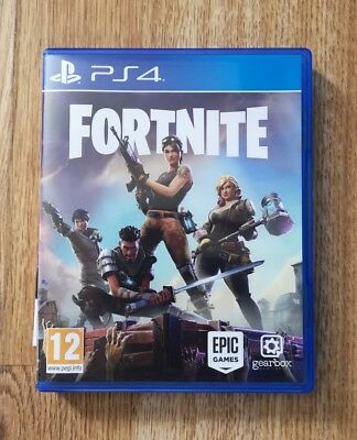 Fortnite Ps4 Playstation 4 Disc Version With Storm Master Weapon