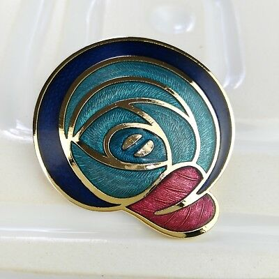 Celtic Sea Gems Brooch - Gift for Women - Glasgow Style Brooch