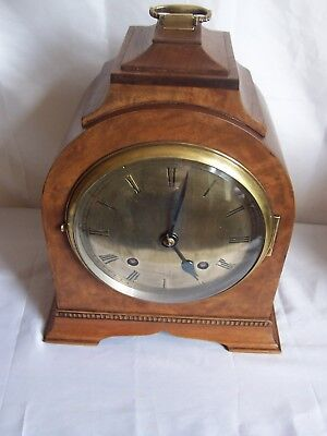 Beautiful Empire Pad Top Dome Top Time And Strike Bracket Clock.