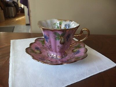 Vintage Shafford Lusterware Cup and Saucer