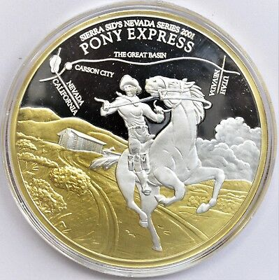 Sierra Sid's the rare Pony Express one of the key gems to have only 52 mnted