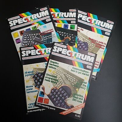 Vintage Computers - THE COMPLETE SPECTRUM Magazine - Issues 1-5