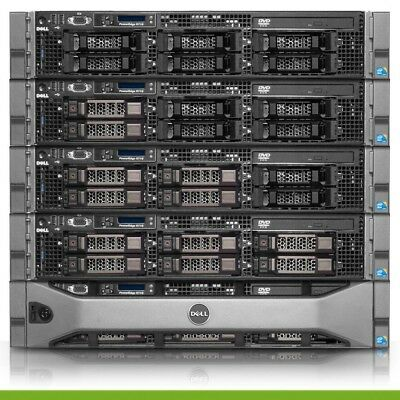 Dell PowerEdge R710 Server | 2x 2.93GHz X5670 12 Cores | 64GB | H200 | 2 Trays