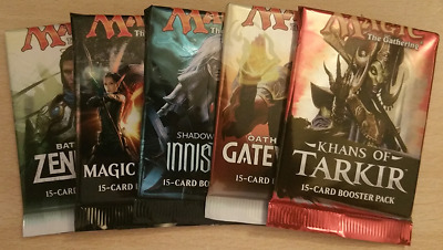 FREE PACKS - Magic The Gathering booster packs - Gatecrash to Core 2019 MTG