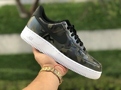 Nike Air Force 1 '07 LV8 - CHOOSE SIZE - 823511-201 Olive Black Camo Low White