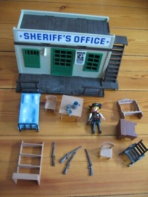 Playmobil 3423 Western Sheriff`s Office  Topzustand