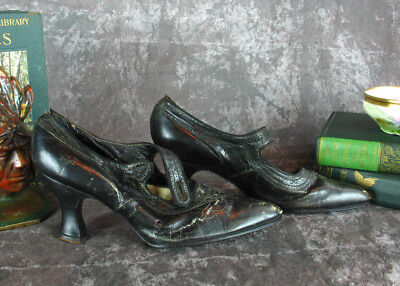 Knotts Berry Farm Auction Shoe Lot Antique Womens Edwardian Mary Jane Shoes