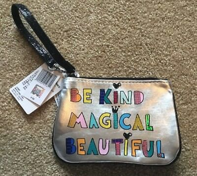 Disney Parks Be Kind Magical Beautiful Small Wristlet