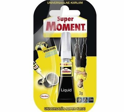 MOMENT SUPER Universal Second Heat Resistant Strong Waterproof Glue