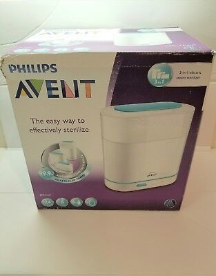 Philips AVENT 3 in 1 Electric Steam Baby Bottle Sterilizer