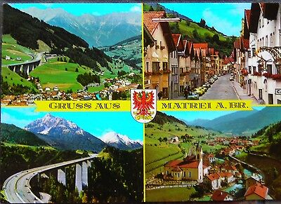 Postcard Collectible Gruss Tirol 4 Scenic Photos Austria Mint Condition Unposted
