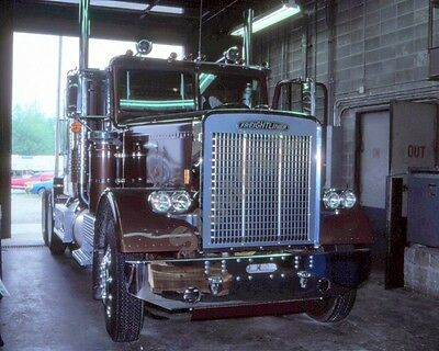"""1980's Freightliner Semi Truck Rig Road Tractor Trucking 8""""x 10"""" Photo 24"""