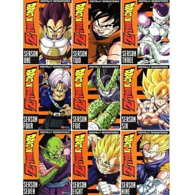 Dragon Ball Z: The Complete Series Seasons 1-9 (DVD 54-Disc Set) New Sealed