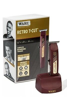 Wahl Professional 5-Star Series Cordless Retro T-Cut Trimmer #8412