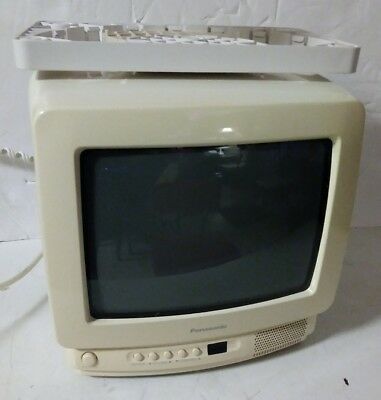 """Panasonic CT-9R10T 9"""" CRT TV/ GAMING MACHINE +Under the Counter Mount no remote"""