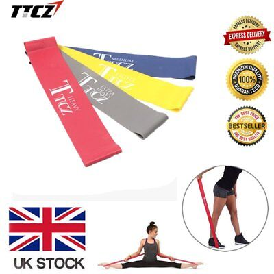 Elastic Tension Resistance Band Fitness Rubber Loop Band Yoga EquipmentHT