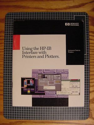 Using the HP-IB Interface with Printers and Plotters