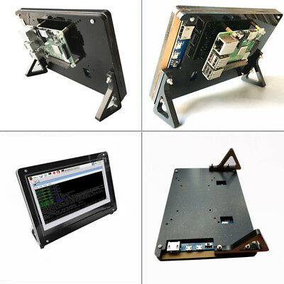 1024X600 7 Inch Raspberry Pi 2 3 B+ Touch screen LCD HDMI Display with Case
