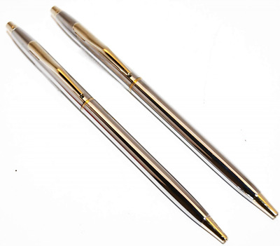 """Classic Chrome and Gold Police Uniform Pens by """"Beall's Bay"""""""