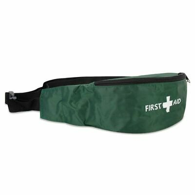 First Aid Kit Bum Bag Travel Personal - EMPTY with 2 zipped pockets GOOD QUALITY