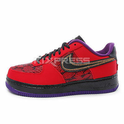 2fa0e6fa2153b DS NIKE 2012 Air Force 1 Xxx Qs Foam Flat Pewter 10 Purple Eggplant ...