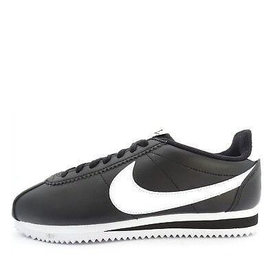 23d33c68af37 Nike WMNS Classic Cortez Leather  807471-010  Women Casual Shoes Black White