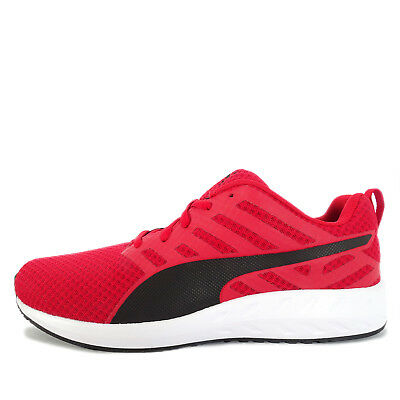 PUMA FLARE MESH  189028-01  Men Running Shoes Red Black -  107.95 ... 8ee5ea092